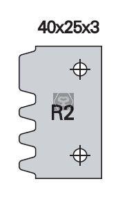 OMAS K48028R200 Spare Blade [ea] R2 for K428-R