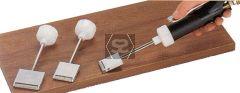 Pizzi 0295  Pizzi Roller Spatula L=30mm