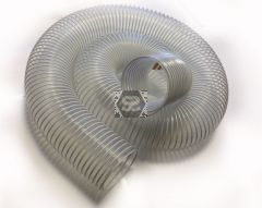 PVC Flexible Dust Extraction Hose L=3m D=102 mm