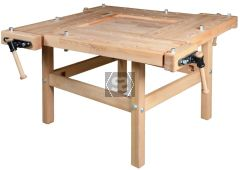 Pinie Bench School 1 4 Station Workbench