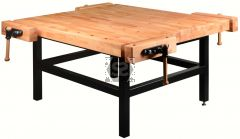 Pinie Bench School 4 Flexi 4 Station Workbench