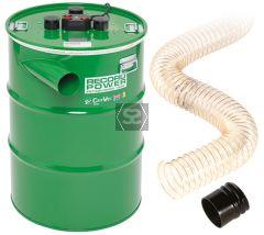 "RECORD CGV486-6 CamVac 200L 3000w Vacuum w 4"" Inle"