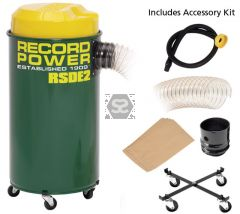 Record Power RSDE2 55l High Filter Dust Extractor