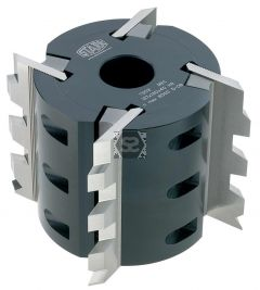 Stark Serrated Cutter Block D=122 d=40 z=4 B=80