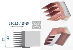 Stark Spare HSS Finger Joint Knife 15-15
