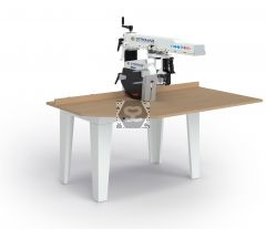 Stromab RS650S 400mm 5.5hp Radial Arm Saw