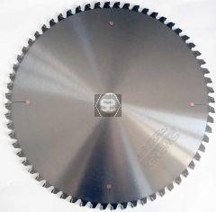 Crosscut Sawblade -VE negative rake D=450 Z=72