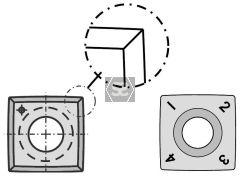 Spiral Tip 15 x 15 x 2.5mm R150