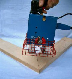 Internal mitre electrode