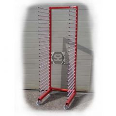 Mobile Drying Rack 16 Bar