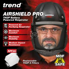 TREND AIR/PRO/EUR Airshield Respirator Pro 230v Eu