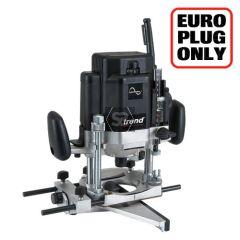 TREND T10EK/EURO Router 12mm 2000w Var 230v & Kitb
