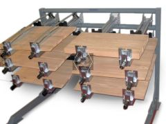 Trimwex Clamp Rack 2500 mm with 15 Clamps