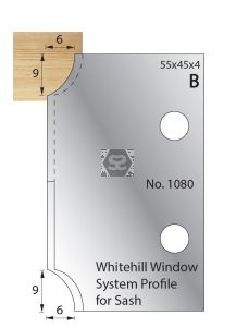Set of Whitehill Cutters + Limiters Profile 1080