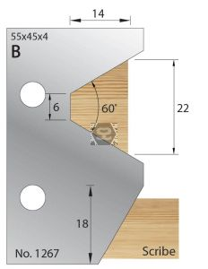 Whitehill Glazing Bar Cutters no 01267