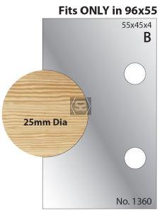 Whitehill 25mm Dowel Cutters 1360