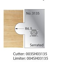 Whitehill Serrated Cutter no.3135 Cutter  [pr]