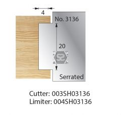 Whitehill Serrated Cutter no.3136 Cutter  [pr]