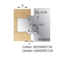 Whitehill Serrated Cutter no.3139 Cutter  [pr]