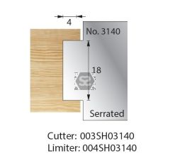 Whitehill Serrated Cutter no.3140 Cutter  [pr]