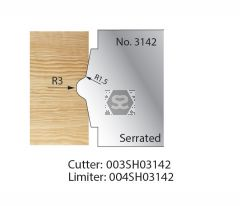 Whitehill Serrated Cutter no.3142 Cutter  [pr]