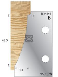 Whitehill 11mm Ogee Limiter 1378
