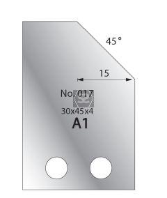 Whitehill 30mm Cutters [pr]  no.017