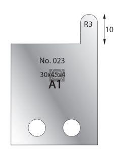 Whitehill 30mm Cutters [pr]  no.023