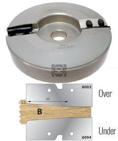 Whitehill TC Panel Head Under Profile B d=30mm