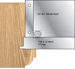 Whitehill 21 Weather Seal Head 129 x 14 d=30