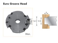 Whitehill Euro Groove Head 150 d=1 1/4 Bore