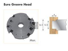 Whitehill Euro Groove Head D=125 d=1 1/4 Bore