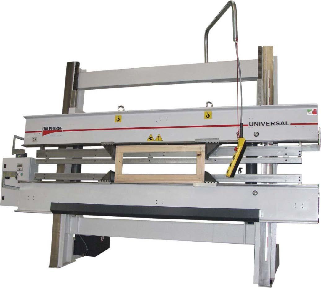 Italpresse universal hydraulic frame clamp scott sargeant uk