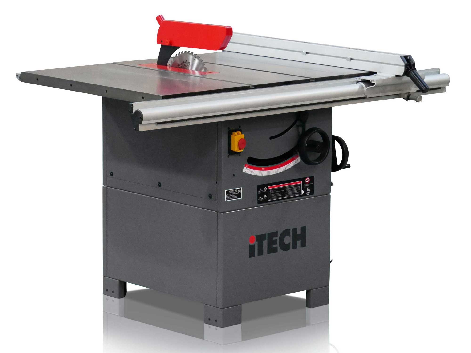Itech 01332 250mm Cast Iron Table Saw Bench Scott Sargeant Uk