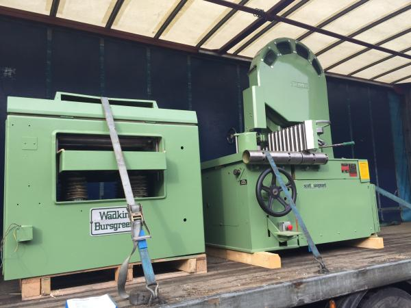 Used Machines for Building With Frames in Cornwall