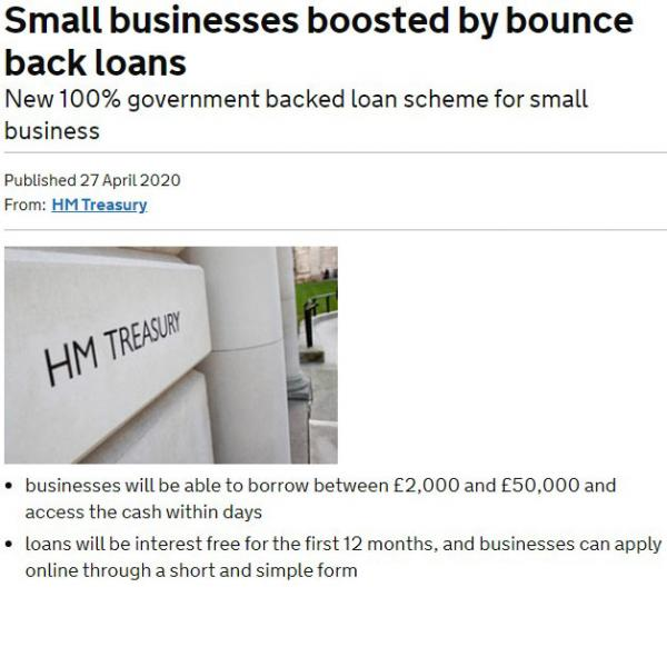 12 Months Interest Free Loans for Small Businesses available