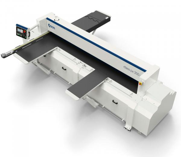 The New SCM Si350PX Space Saving Panel Saw sets a new standard