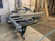 R & B Bespoke Joinery Take first of New series iTECH PS400 Low cost panel saw