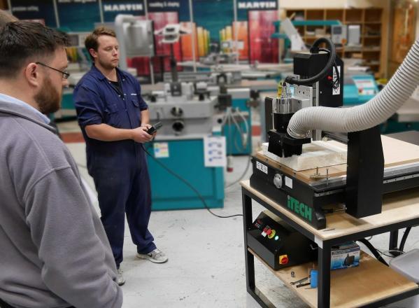 Update: Machinery showroom open