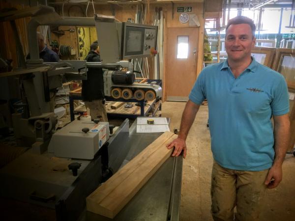 Wood & Wisdom Choose a Martin T27 Spindle Moulder