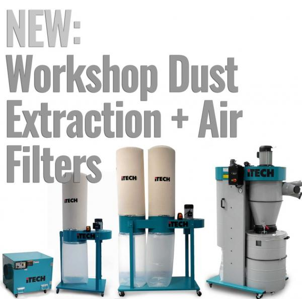 New Range of Dust Extraction Units Arrives into Stock