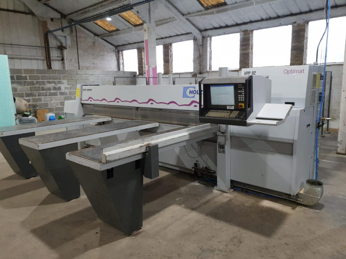 TigerTec CNC and Holzma Beamsaw Installed in Western-Super-Mare
