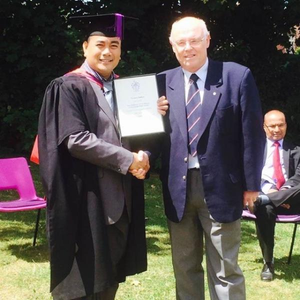 First Class Honours for Deo