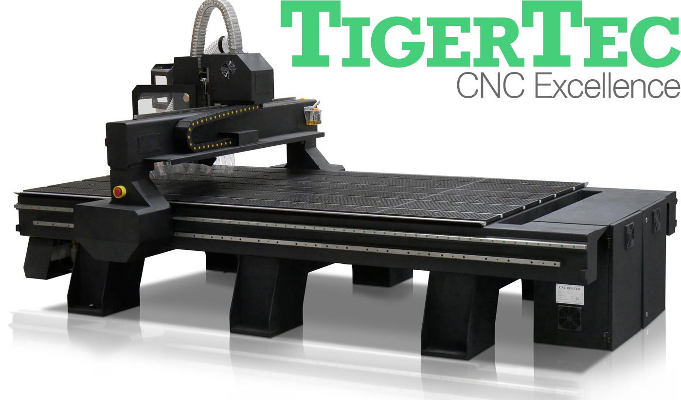 TigerTec CNC Routers for Sale