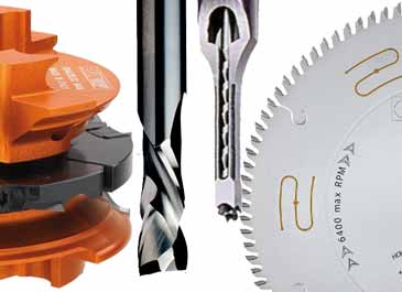 Tooling & Router Cutters for woodworking machinery