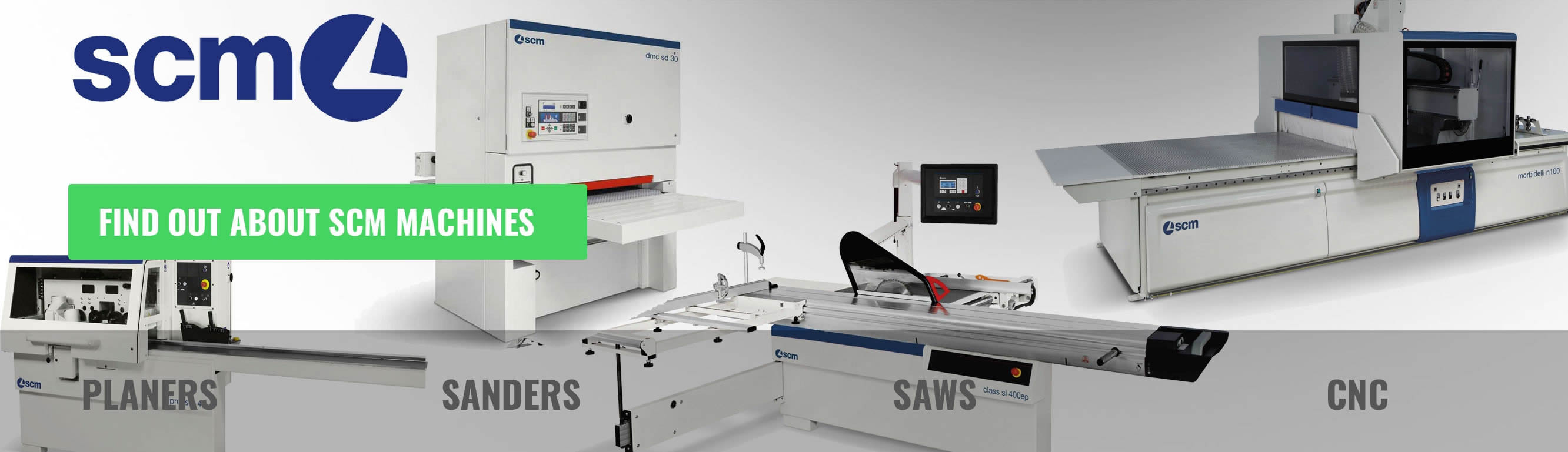 SCM Group Woodworking Machines