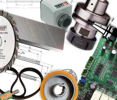 Spare Parts for SCM Machines