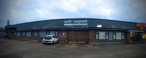 Scott+Sargeant Woodworking Machinery Showroom near London