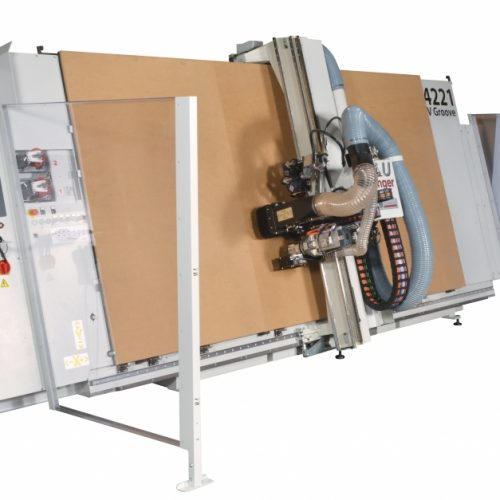 Casadei Industria's Vertical CNC Router - Processing Composites
