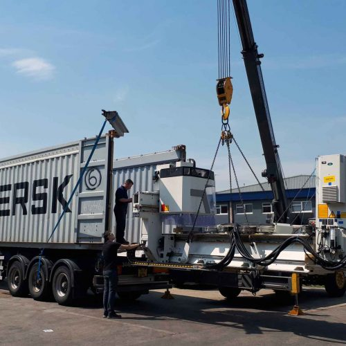 Used SCM 5 Axis CNC Router on its way to a Furniture Factory in West Africa